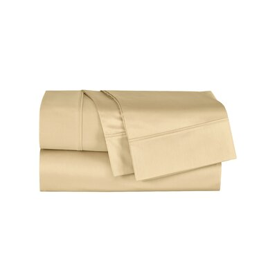 Henry 300 Thread Count Sheet Set Size: King, Color: Gold