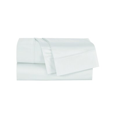 Henry 300 Thread Count Sheet Set Size: Queen, Color: Light Teal