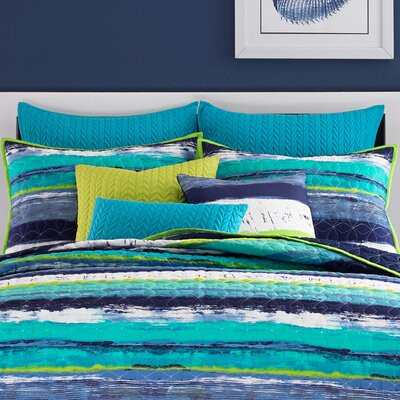 Cameron Coverlet Size: King