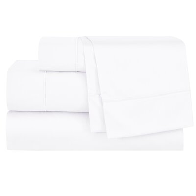 Henry 300 Thread Count Sheet Set Size: King, Color: White