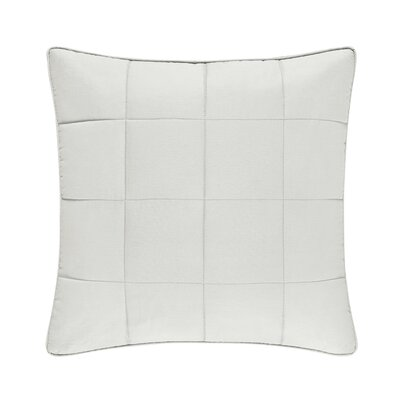Manchester 100% Cotton Throw Pillow Color: Ivory