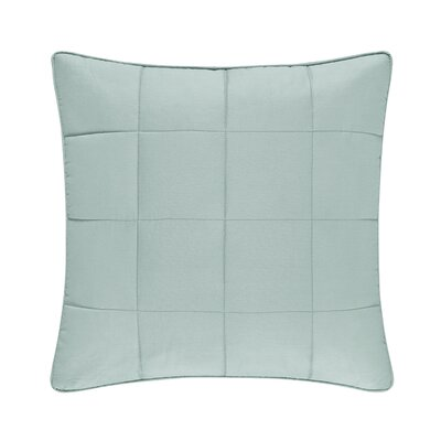 Manchester 100% Cotton Throw Pillow Color: Aqua