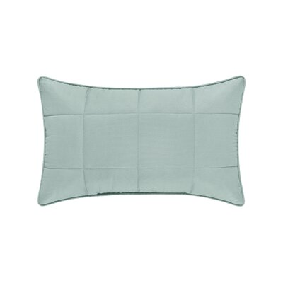 Manchester 100% Cotton Boudoir Pillow Color: Aqua