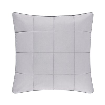 Manchester 100% Cotton Throw Pillow Color: Gray