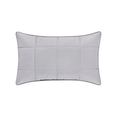 Manchester 100% Cotton Boudoir Pillow Color: Gray
