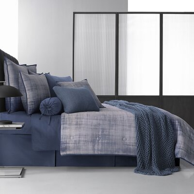Karlee 4 Piece Reversible Comforter Set Size: California King
