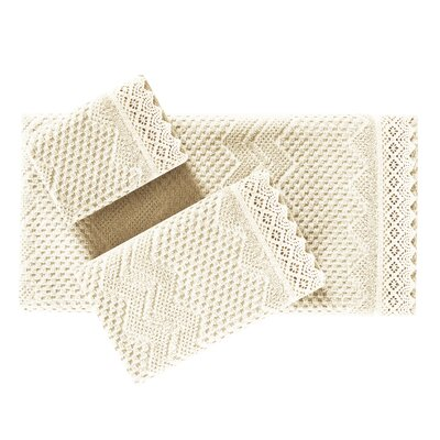 Fingertip Towel Color: Ivory