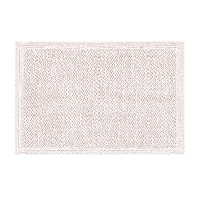 Karthic Bath Rug Color: Blush