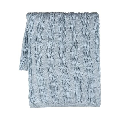 Tresor Blanket Color: Baby Blue