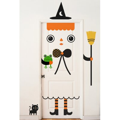 Miss Witchy Wall Decal