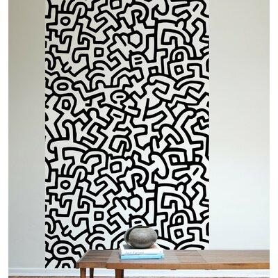 Keith Haring Wall Mural