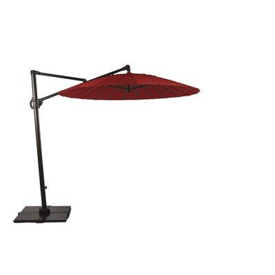 9 Malibu Bliss Cantilever Umbrella Color: Jockey Red