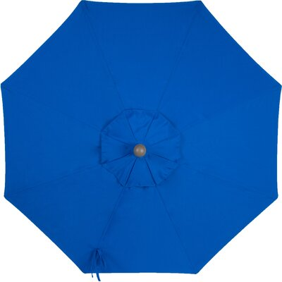 9 Sunbrella Replacement Canopy for Market Umbrella Color: Pacific Blue