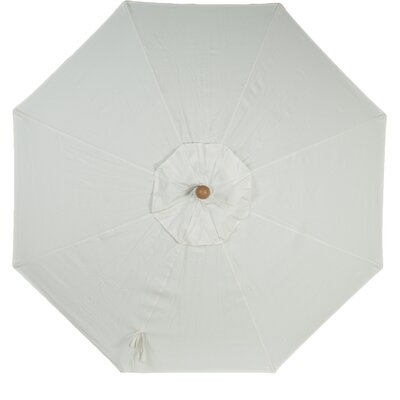 9 Sunbrella Replacement Canopy for Market Umbrella Color: Natural