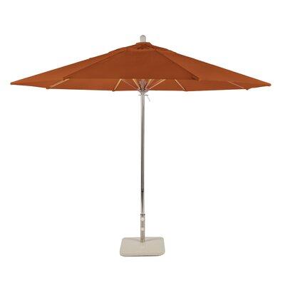 11 Newport Coast Market Umbrella Color: Tuscan