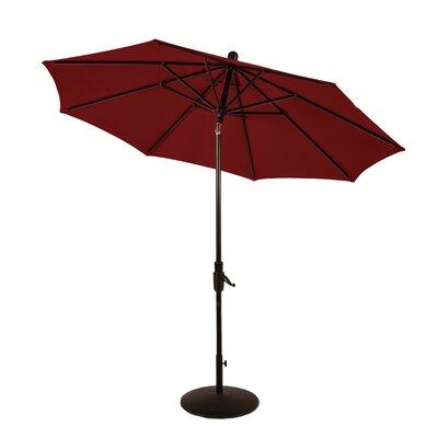 9 Zuma Shore Market Umbrella Color: Jockey Red