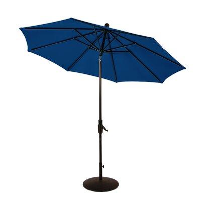 9 Zuma Shore Market Umbrella Color: Pacific Blue
