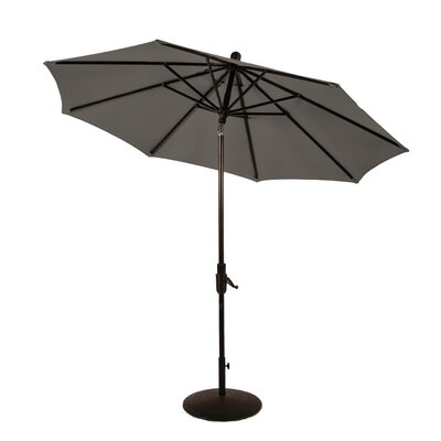9 Zuma Shore Market Umbrella Color: Graphite