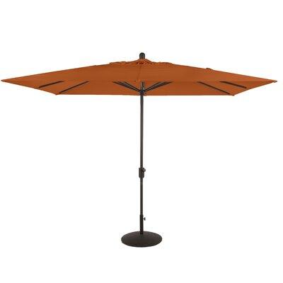 6.5 x 10 La Jolla Rectangular Market Umbrella Fabric: Tuscan