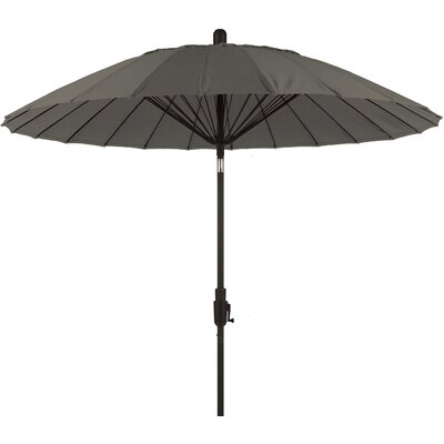 8 Balboa Breeze Market Umbrella Color: Graphite