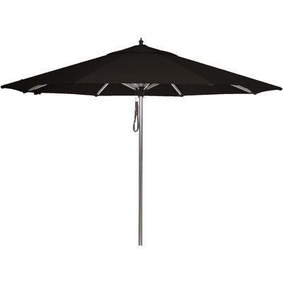 9 Coronado Sands Market Umbrella Color: Black