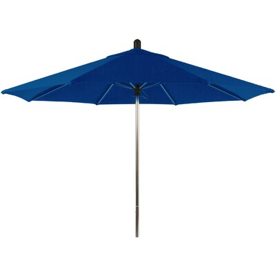 9 Santa Barbara Market Umbrella Color: Pacific Blue