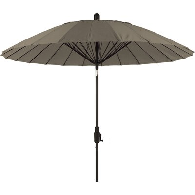 8 Balboa Breeze Market Umbrella Color: Taupe