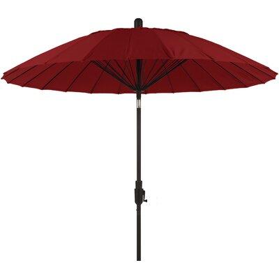 8 Balboa Breeze Market Umbrella Color: Jockey Red