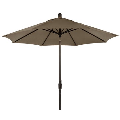 9 Zuma Shore Market Umbrella Color: Taupe