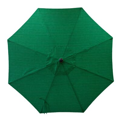 Round Universal Sunbrella Replacement Cover Color: Forest Green