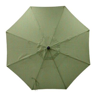 Round Universal Sunbrella Replacement Cover Color: Fern