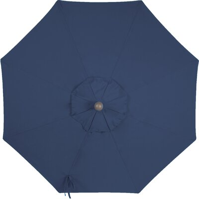 Round Universal Sunbrella Replacement Cover Color: Navy