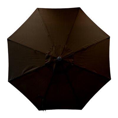 Round Universal Sunbrella Replacement Cover Color: Cocoa