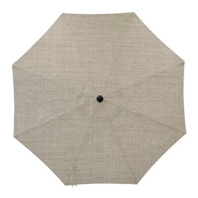 Round Universal Sunbrella Replacement Cover Color: Cast Silver