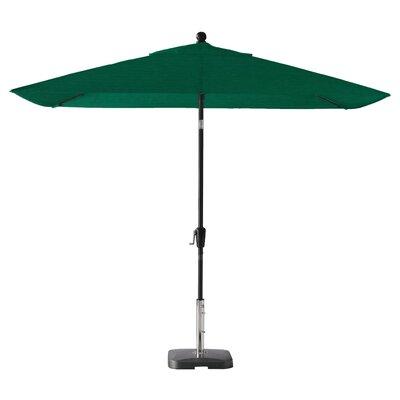 Wiechmann Push Tilt 9' x 7' Rectangular Market Umbrella 4D6ED72341084F638B785A1DA9481F02
