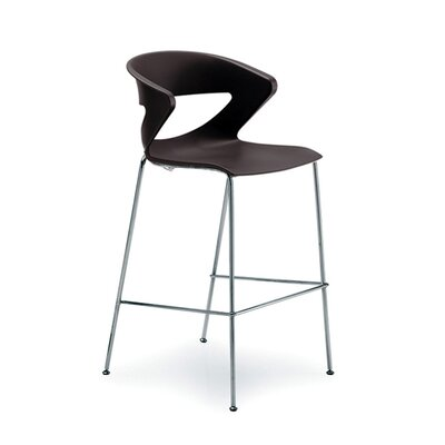 Kreature 30 Bar Stool Finish: Black