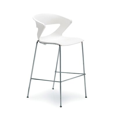 Kreature 30 Bar Stool Finish: White