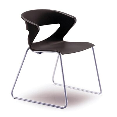 Kreature Sled Base Guest Chair Seat Color: Black
