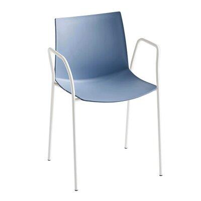Kanvas 4 Leg Guest Chair Seat Color: Blue
