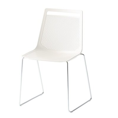 Akami Sled Base Guest Chair Seat Color: White