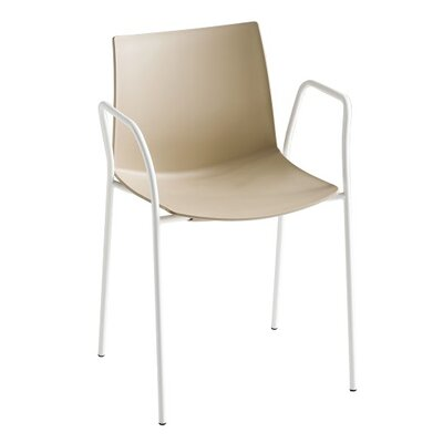 Kanvas 4 Leg Guest Chair Seat Color: Sand