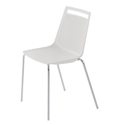 Akami Guest Chair Seat Color: White