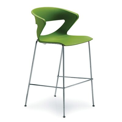 Kreature 30 Bar Stool Finish: Green