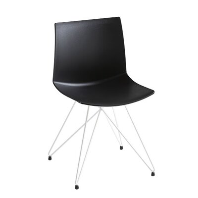 Kanvas Rocket Base Guest Chair Seat Color: Black