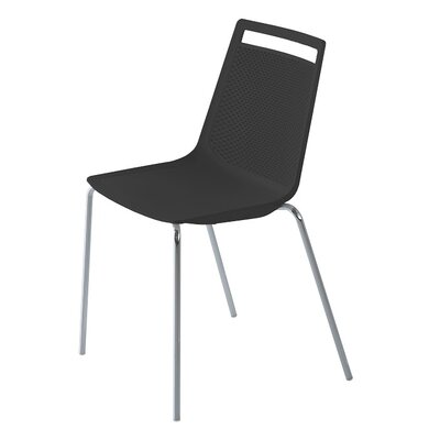 Akami Guest Chair Seat Color: Black