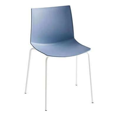 Kanvas 4 Leg Guest Chair Seat Color: Blue