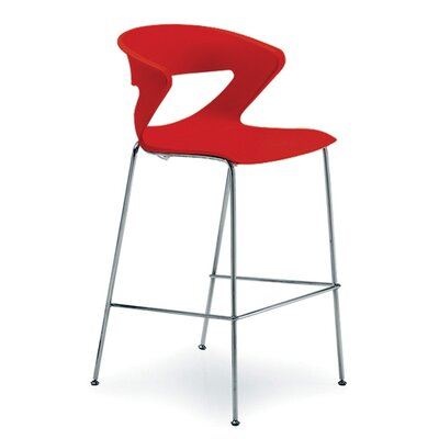 Kreature 30 Bar Stool Finish: Red