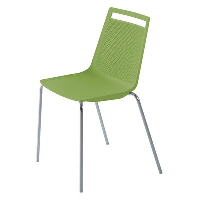 Akami Guest Chair Seat Color: Green