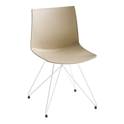 Kanvas Rocket Base Guest Chair Seat Color: Sand