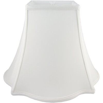 12 Faux Silk Novelty Lamp Shade Color: White